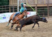 July 20, 2018: Rodeo action from the Third Annual Island Lake Rodeo near Lengby, MN. Photo by Russell Hons TO VIEW ALL PHOTOS VISIT: https://russellhonsphotography.shootproof.com/2018_Island_Lake_Rodeo